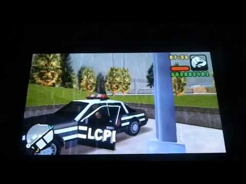 Grand Theft Auto Liberty City Stories Gameplay on The Ps Vita