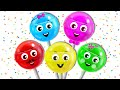 Lollipop Finger Family Song | Nursery Rhymes for Children by HooplaKidz EP 15
