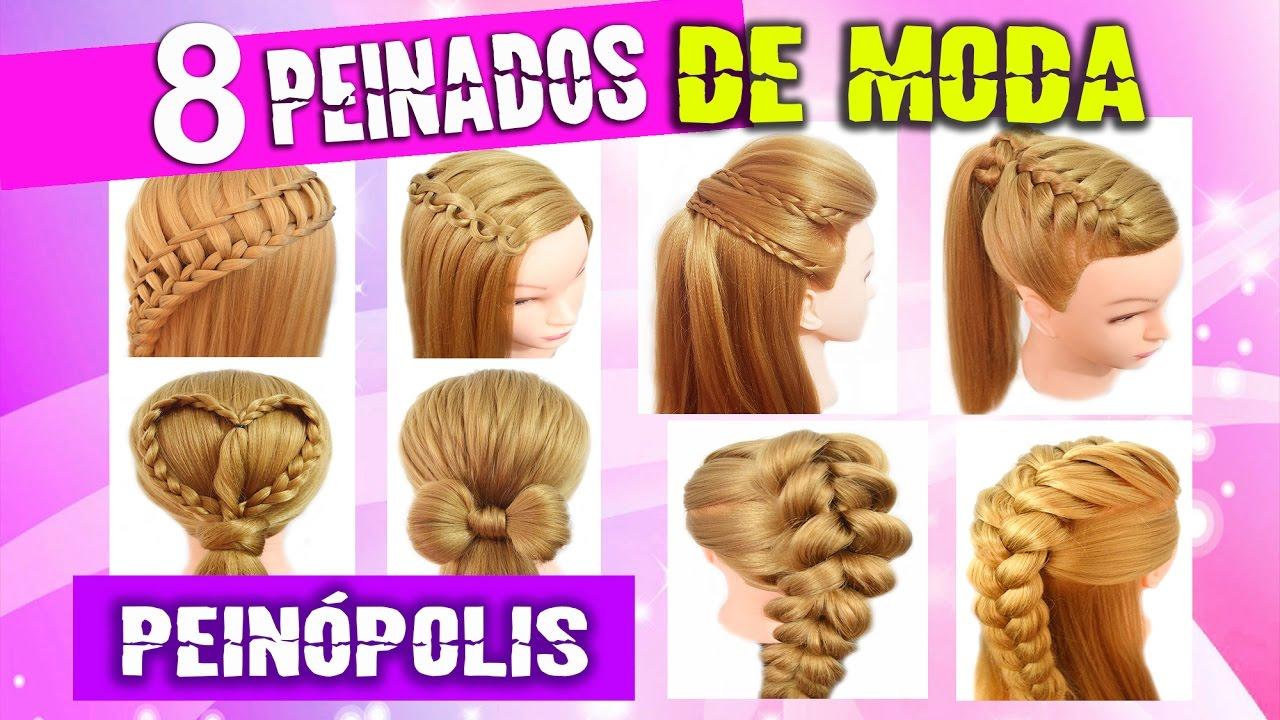 peinados casuales faciles con trenzas para cabello largo para cada dia