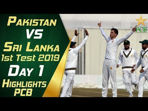 Pakistan vs Sri Lanka 2019 | Full Highlights Day 1 | 1st Tes