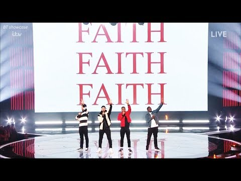"Rak-Su sing & PUT Their OWN SPIN to ""Faith"" &Comments X Factor   Show Week 3"