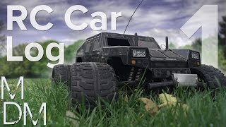 Nitro Engine RC Car Build Log - Part 1 (Tamiya Wild Commando)