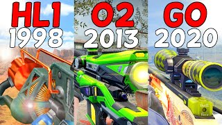 Evolution Of The Best Weapons In Valve Games