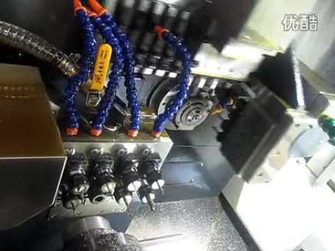 Swiss Cnc Lathe Video