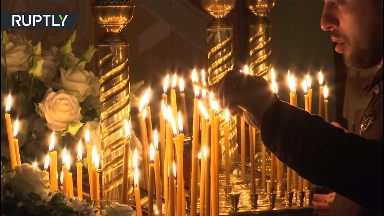 Делегация Сурожской епархии Московского патриархата доставила Благодатный огонь в Лондон