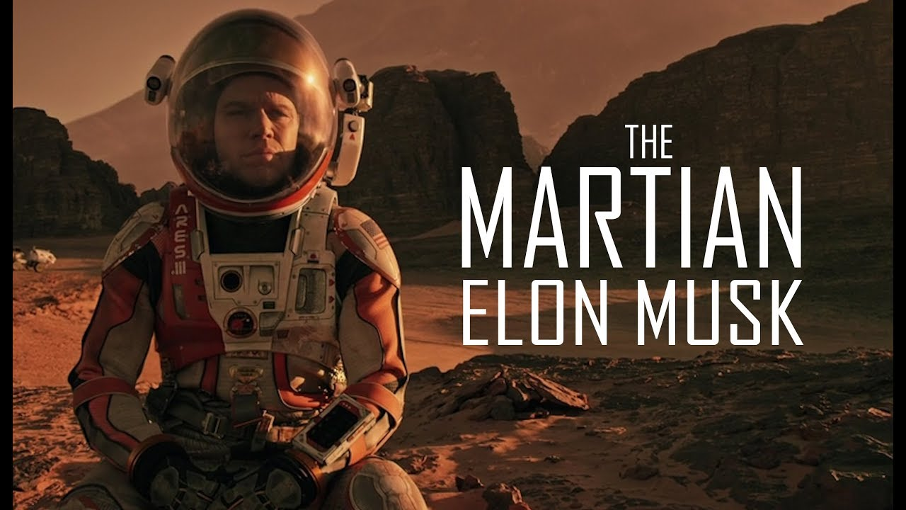 THE MARTIAN ELON MUSK