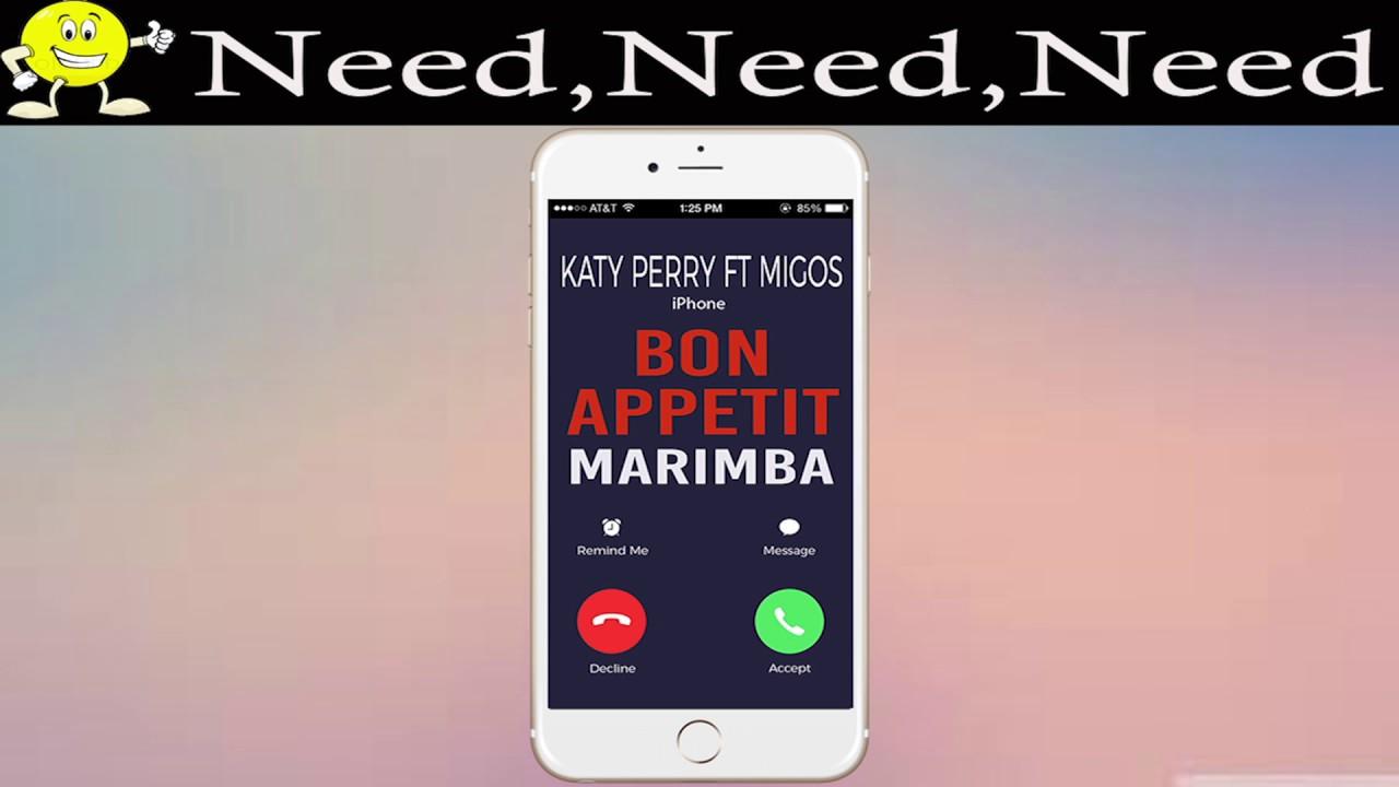 Чтобы бесплатно скачать рингтон Katy Perry feat. Migos - Bon...