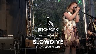 "Slowdive perform ""Golden Hair"" - Pitchfork Music Festival 2014"