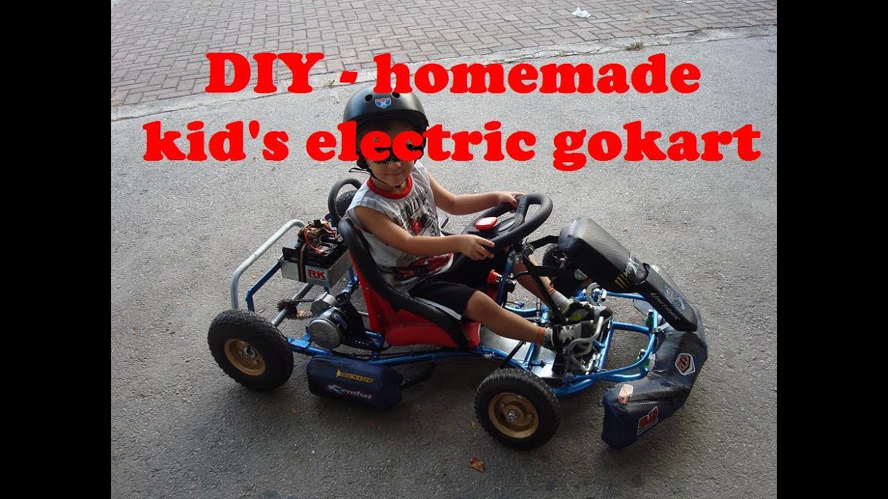 Electric Go Kart Homemade Diy As Build Part 1 Youtube