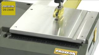 Proxxon 27088 Scroll Saw Ds230e Available From Rdgtools