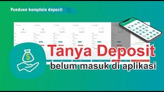 PANDUAN - Komplain Deposit Aplikasi Ventura Payment System Terbaru