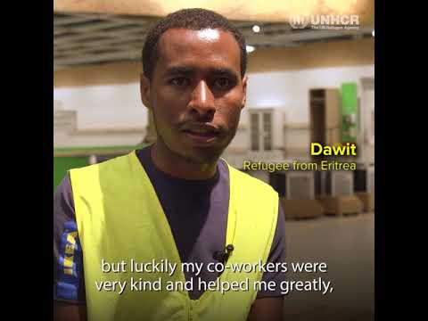 Refugees get job ready at IKEA Switzerland
