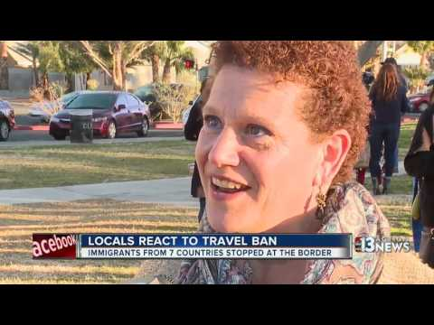 The local impact on Trump's travel ban