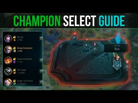 (Detailed) Champion Select Guide from YouTube · Duration:  15 minutes 53 seconds
