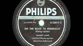 Frankie Laine On The Road To Mandalay