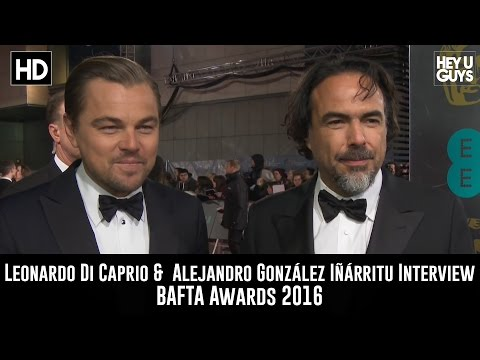 Leonardo Di Caprio & Alejandro González Iñárritu Red Carpet Interview - BAFTA Awards 2016