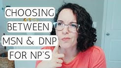 NURSE PRACTITIONER: MSN vs DNP Questions Answered