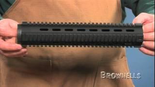 Brownells - AR-15 4-Rail Free-Float Handguard