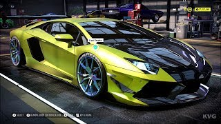Need for Speed Heat - Lamborghini Aventador S 2018 - Customize | Tuning Car (PC HD) [1080p60FPS]