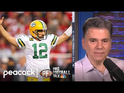 San Francisco 49ers not at fault for leaving Aaron Rodgers time   Pro Football Talk   NBC Sports