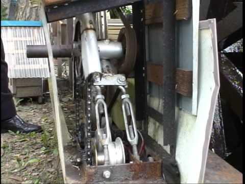 自転車の 自転車 ハブダイナモ led 自作 : 自転車のハブダイナモホイール ...