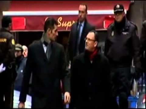 King of Spain's son in law Inaki Urdangarin arrives at court.