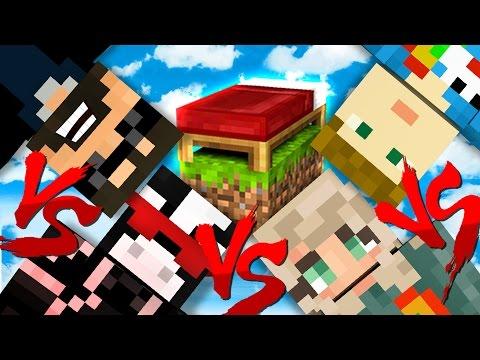 NO BASE DEFENSE CHALLENGE!! | Minecraft Bed Wars 1v1v1v1