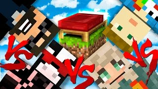 NO BASE DEFENSE CHALLENGE!! | Minecraft Bed Wars 1v1v1v1