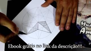 Incrível técnica para desenhar retas e círculos à mão livre.