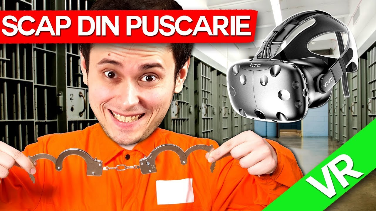 Max SCAPA din PUSCARIE in VR ! (HTC VIVE) SPECIAL!