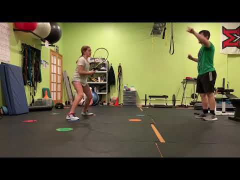 Tennis Specific Footwork Training Session