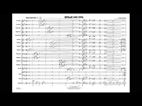 Speak No Evil by Wayne Shorter/arranged by Mike Tomaro - YouTube