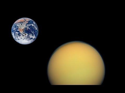 If Titan Were a Moon of Earth