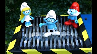 SHREDDING SMURFS TOYS: SMURFETTE, PAPA SMURF, BRAINY SMURF AND OTHERS