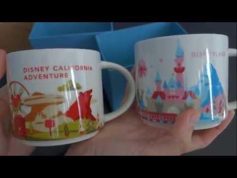 Disney Merchandise Review Disneyland Starbucks Mugs