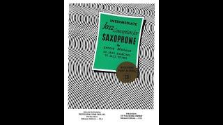 Etude No.18 – Eb Alto Saxophone (Play-Along) / Jazz Conception  – Intermediate / Lennie Niehaus
