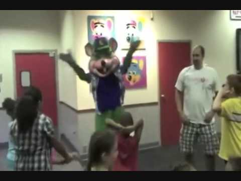 Chuck e Cheese Party Rock Music Video (Alvin and the Chipmunks version)
