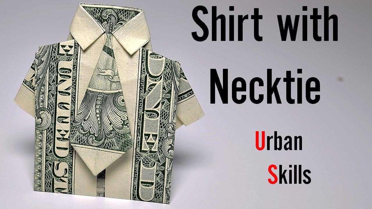 Geld Origami Shirt Mit Tie Und Pants Suit Mit Zwei Echten ... | 720x1280