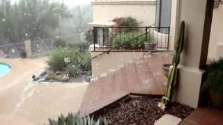 Arizona Hail Storm part 2
