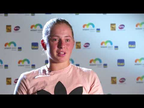 2018 Miami Open Women's Singles Finalist Jelena Ostapenko, Interview
