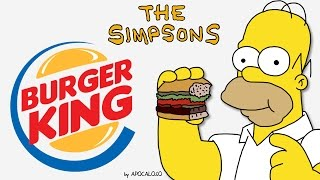 The Simpsons - Burger King Commercial (1990-2007)