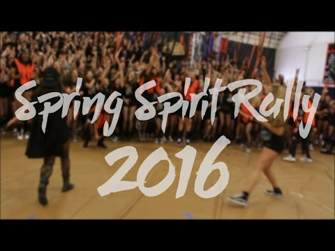 Los Gatos High School: Spring Spirit Rally 2016
