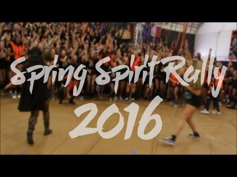 Los Gatos High School: Spring Spirit Rally 2016