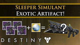 Destiny - Sleeper Simulant mystery: Exotic artifact and quest details