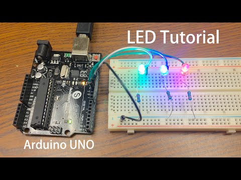 Arduino Tutorial: LED Sequential Control Beginner Project  YouTube