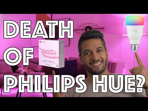 Yeelight Colour Bulb And Aurora Light Strip Plus Review - Philips Hue Better Watch Out!