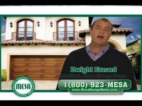 Attractive MESA Garage Door Commercial   YouTube