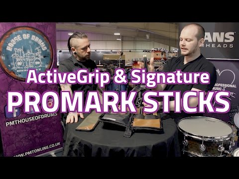 2017 Promark Drum Stick Range (ActiveGrip, Signature Series & Accessories)