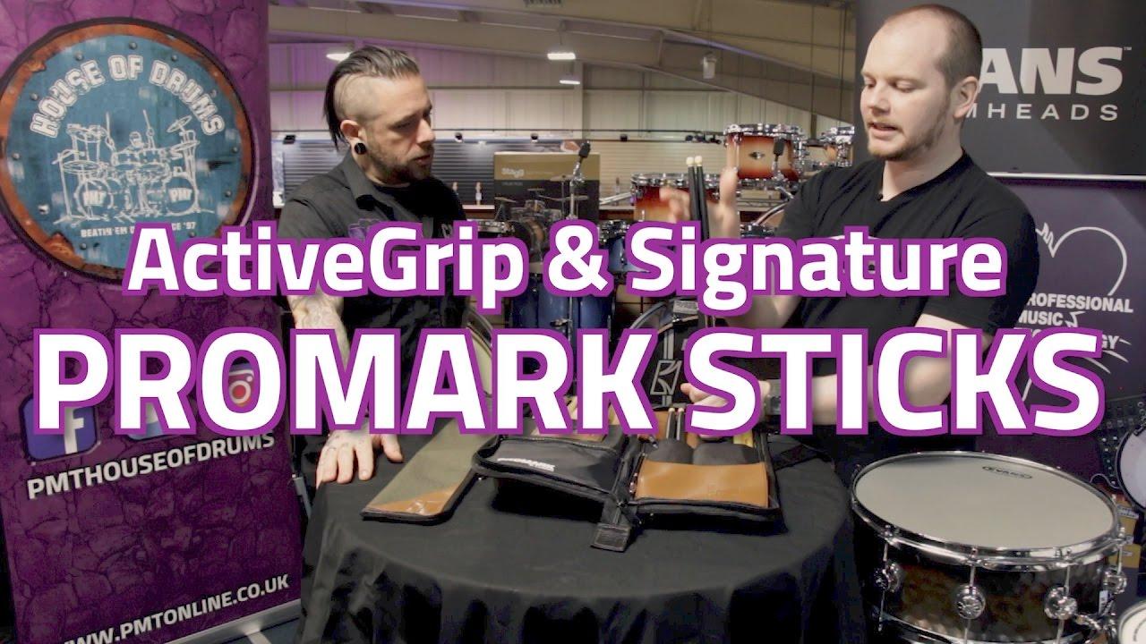 ActiveGrip Sticks Promark Glenn Kotche