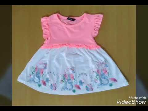 Wholesale Branded Stocklot surplus Girls Frocks Tirupur Wholesale Garments  cloth market